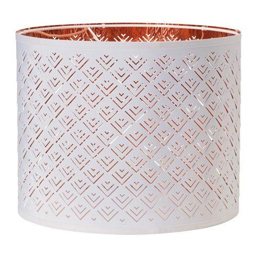 RoomClip商品情報 - IKEA NYMO 20297934 ランプシェード 直径 37 cm ホワイト コッパーカラー