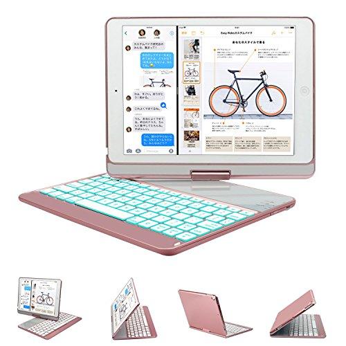 新しい9.7インチ iPad キーボード GreenLaw 360度回転式 ...