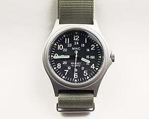 MWC イギリス軍 ミリタリー ウォッチ G10 ブロードアロー メンズ 腕時計 シルバー
