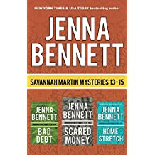 Savannah Martin Mysteries Box Set 13-15: Scared Money, Bad Debt, Home Stretch