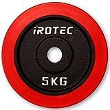 IROTEC(アイロテック) ラバープレート5KG / バーベル ダンベル兼用 (¥ 2,916)