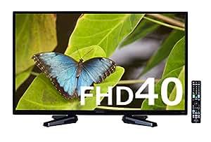 オリオン 40V型 フルハイビジョン液晶テレビ 外付けHDD録画対応(裏番組録画) ブルーライトガード搭載 ブラック RN-40DG10