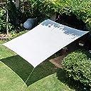 白6ピンシェードネット 暗号化された厚い日焼け止めネット 中庭の車の断熱ネット バルコニーの植物の日よけネット 日よけの割合90%