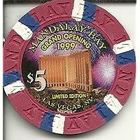 $ 5マンダレーベイObsolete Grand Opening 1999ラスベガスカジノチップObsolete
