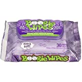 Boogie Wipes Grape Scent Extra Soft Saline Wipes - 30 CT by Boogie Wipes [並行輸入品]