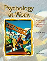 Psychology At Work:An Introduction To Industrial And Organizational Psychology