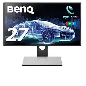 BenQ USB-TypeCドッキングステーション付きsRGB100%モニターPD2710QC 27インチ/ノングレア/IPS/WQHD/昇降/4辺フレームレス