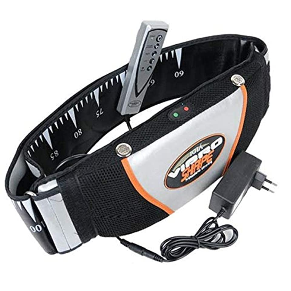 電気技師地元賞賛減量のためのサウナベルト脂肪質のバーナーの反セルライトボディ細くする熱のベルト痩身製品 - ブラック