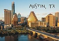 オースティン、テキサス、City、スカイライン、議会議事堂、TX、お土産マグネット2x 3冷蔵庫マグネット
