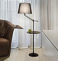アイロンフロアランプ、北欧コーヒーテーブルリビングルームシンプルでモダンなベッドルームベッドサイドランプE27 * 1高140-160cmプルラインスイッチ ( 色 : #4 )