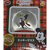 ディズニー クリスマスオーナメント スノードーム賞 ミッキーマウス HAPPYくじ
