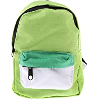 Lovoski  人形 可愛い 通学バッグ バックパック  18インチアメリカンガールドール対応 装飾 全5色  - 緑