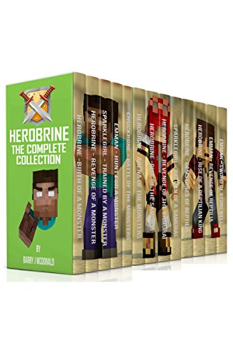 Download Herobrine - The Complete Collection (17 Books In 1 Boxset) (English Edition) B018B6RU7A