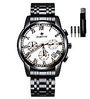 ステンレススチールQuartz Wrist Watches for Menクロノグラフウォッチ