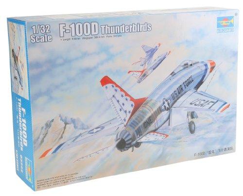 """1/32 F-100D スーパーセイバー """"サンダーバーズ"""""""
