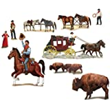 Beistle 52039 Wild West Character Props by Beistle [並行輸入品]