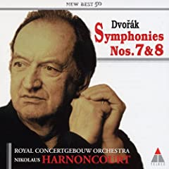 国内盤CD ニコラウス・アーノンクール指揮/ロイヤル・コンセルトヘボウ管弦楽団 ドヴォルザーク:交響曲第7番&第8番のAmazonの商品頁を開く