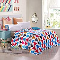 SXT ベッドの裏地の冬の厚くされたフランネルの綿毛布、暖かい単一の二重タオルのキルト毛布 寝具毛布 (Color : 250x230cm(98x91inch), サイズ : H)