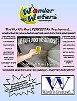 Wonder Wafers 25 CT Individually Wrapped STRAWNILLA Air Fresheners [並行輸入品]