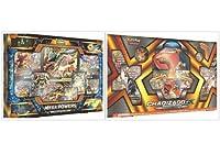 Pokemon TradingカードゲームメガPowersコレクションボックスand Charizard GXプレミアムコレクションボックスバンドル、1の各