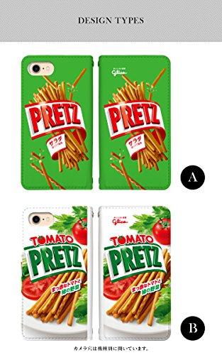 6130d8b42d スマホケース 手帳型 ベルトなし アイフォンse 手帳型ケース 8131-D. Pocky iphone5 iphone5s ケース カバー [ iPhoneSE] アイフォンエスイー グリコ ポッキー ...