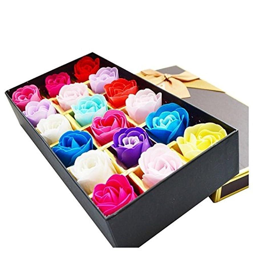 分数学的な楽観ローズ フラワーソープ 石鹸 薔薇 プレゼント お祝い ③ #335