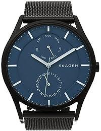 スカーゲン 時計 SKAGEN SKW6450 HOLST ホルスト ブラック ブルー メンズ腕時計 ウォッチ [並行輸入品]