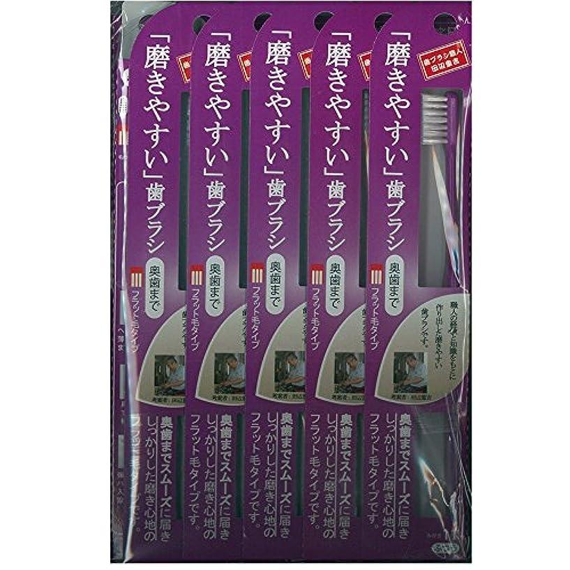 観客消費する邪悪な磨きやすい歯ブラシ(奥歯まで)フラット LT-11×12本セット( ピンク×4本、ブルー×4本、グリーン×2本、パープル×2本)