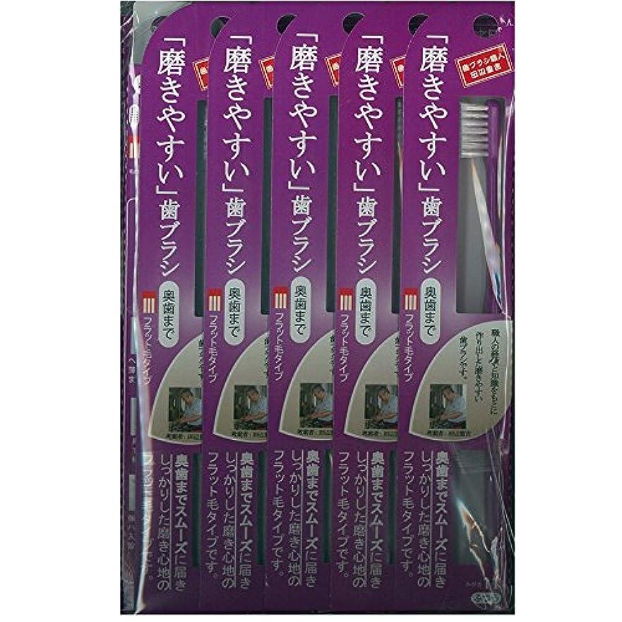 枕出力メキシコ磨きやすい歯ブラシ(奥歯まで)フラット LT-11×12本セット( ピンク×4本、ブルー×4本、グリーン×2本、パープル×2本)