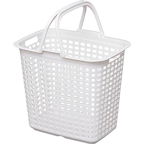 アイリスオーヤマ バスケット ランドリー ピュアホワイト LB-L