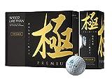 極PREMIUM(キワミプレミアム)ゴルフボール Type Black 1ダース 12個入り ウレタンカバー3ピース 超高反発(非公認球)