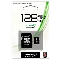 【10個セット】HIDISC microSDXCカード 128GB CLASS10 UHS-1対応 HDMCSDX128GCL10UIJP3