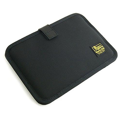 バンナイズ iPad mini ( アイパッド ) 用 薄型 キャリングケース 横型 ( バリスティック ナイロン製 / ブラック )