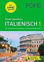 PONS Power-Sprachkurs Italienisch 1: Der Intensivkurs fuer Anfaenger - schnell und multimedial
