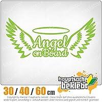 KIWISTAR - Angel on Board! Guardian Angel 15色 - ネオン+クロム! ステッカービニールオートバイ