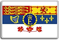 Royal Standard Of Canada - Head of state standard fridge magnet - 蜀キ阡オ蠎ォ逕ィ繝槭げ繝阪ャ繝