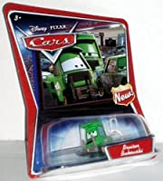 Bruiser Bukowski Disney Pixar Cars 1:55 Scale Supercharged Edition With New Symbol Sign On Card by Disney