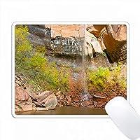 アメリカ、ユタ州、シオン国立公園、アッパーエメラルドプール。類似イメージの検索入手可能性: PC Mouse Pad パソコン マウスパッド