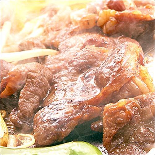 ジンギスカン 肉 味付き ラム肉 食べ比べ 2kg (ラム醤油1kg/ラム塩1kg) 業務用 羊肉 BBQ 北海道
