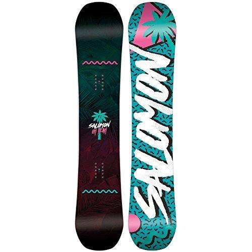 [해외] (살로몬) SALOMON 레이디스 스키・스노보드 보드・판 OH YEAH SNOWBOARD 2018 [병행수입품]-