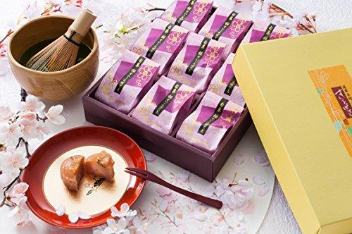 [創味菓庵] ホワイトデー さくら香る桜味スイートポテト 大 国産 9個 饅頭 ケーキ スイーツ 【専用化粧箱】 【ラッピング済】