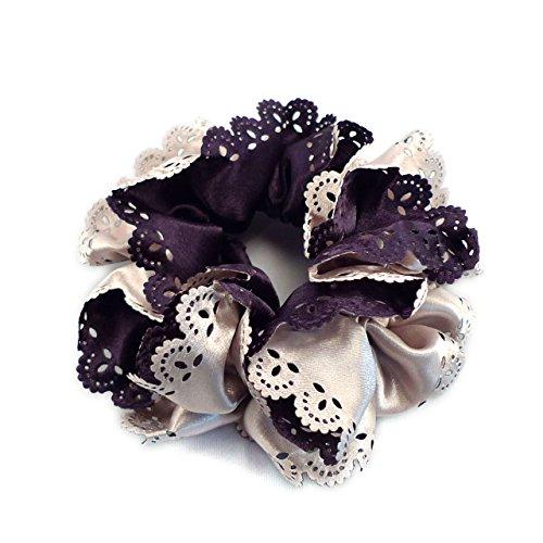(天然浆果)天然浆果缎面蕾丝量周杰伦发双色双色调两色,由色