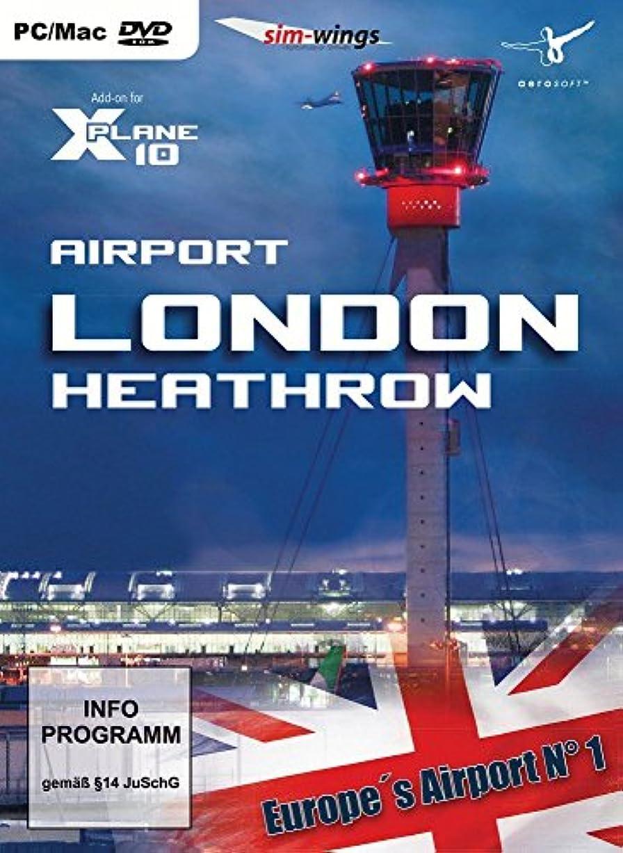 温かい懲戒良心的Airport London-Heathrow (X-Plane 10) (輸入版)