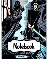 Notebook: Series Movies The Force Awakens College Ruled Notebook Star Wars Gifts Soft Glossy with Ruled Lined Paper for Taking Notes Writing Workbook for Teens and Children Students School Kids Inexpensive Gift For Boys and Girls