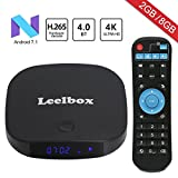 Android TV BOXー4K 高精細 アンドロイド7.1 Wifi テレビボックス 2GB RAM/8GB ROM 搭載【Leelbox】Q2 mini