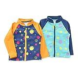 mothergoose(マザーグース)ラッシュガード(80〜130cm)キムラタンの子供服(11883-171b)ネイビーブルー100