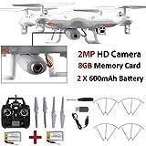 8GB x5C-12MP HDカメラ2.4GHz 6-axis UAV RTFクアッドコプタードローンUFOジャイロRC
