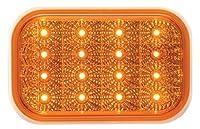 Optronics STL35ABP Amber Lens Miro-Flex Rectangular LED Stop/Turn/Tail Light [並行輸入品]
