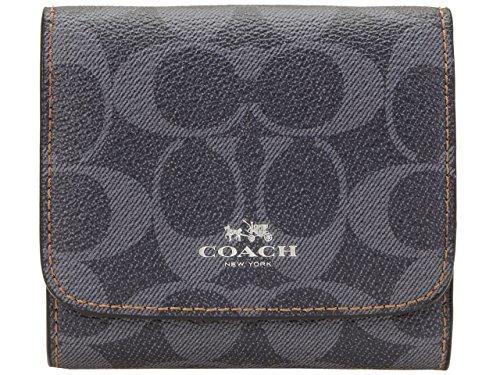 [コーチ] COACH 財布 (三つ折り財布) F57982 デニム シグネチャー 三つ折り財布 レディース [アウトレット品] [並行輸入品]