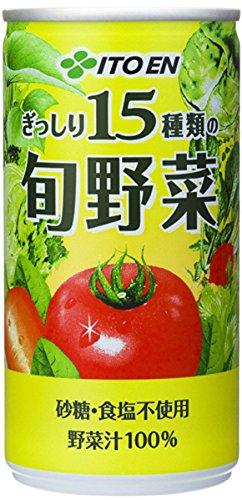 ぎっしり15種類の旬野菜 190g ×20本